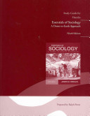 Study Guide for Essentials of Sociology  A Down to Earth Approach PDF