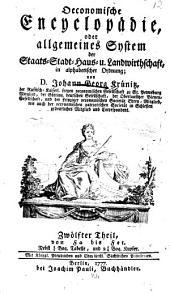 Oekonomische encyklopädie: Band 12