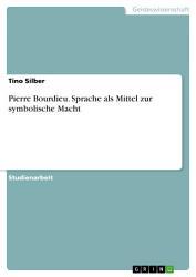 Pierre Bourdieu  Sprache als Mittel zur symbolische Macht PDF
