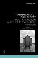 Hannah Arendt Book