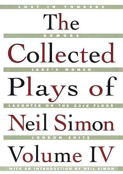 Download The Collected Plays of Neil Simon Book