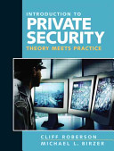 Introduction to Private Security PDF