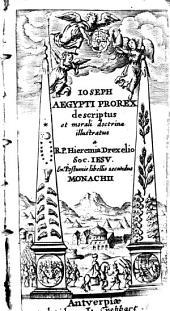 Joseph Aegypti descriptus ...