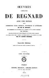 Oeuvres Completes de Regnard