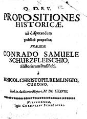 Propositiones historicae
