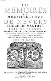 Mémoires de Monsieur le Duc de Nevers, prince de Mantoue