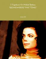 I Capolavori Di Michael Jackson  REMEMBER THE TIME  PDF