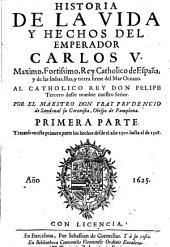 Historia de la vida y hechos del Emperador Carlos V.