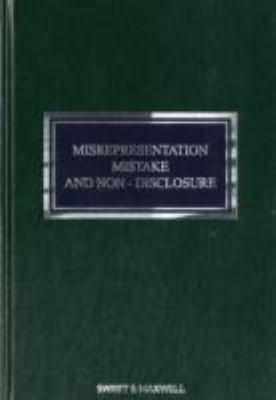 Misrepresentation  Mistake and Non disclosure