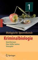 Biologische Spurenkunde PDF