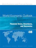 World Economic Outlook  October 2008 PDF