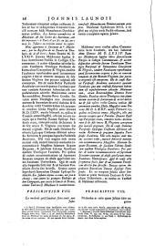 Joannis Launoii,... Opera omnia... Auctoris vita... Aucta et illustrata...