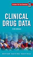 Clinical Drug Data  11th Edition PDF
