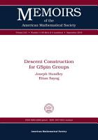 Descent Construction for GSpin Groups PDF