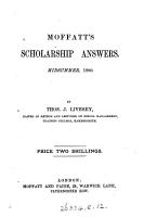 Moffatt s scholarship answers  by T J  Livesey  T  Page   PDF