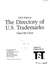 The Directory of U S  Trademarks PDF