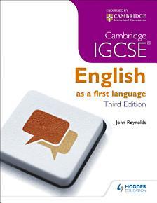 Cambridge IGCSE English First Language 3ed   CD PDF