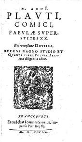 Fabulae supertites 20 ex recensione Dousica ... recens ... editae