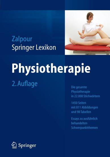 Springer Lexikon Physiotherapie PDF