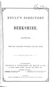 Kelly s Directory of Berkshire Book