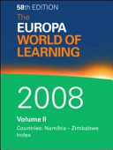 The Europa World of Learning 2008