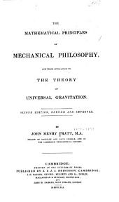 The mathematical principles of mechanical philosophy: and their application to the theory of universal gravitation