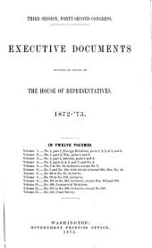 House Documents: Volume 1; Volume 267