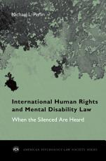 International Human Rights and Mental Disability Law PDF