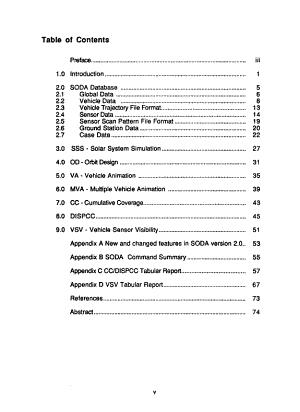 Spacecraft Orbit Design and Analysis  SODA   Version 2 0  User s Guide