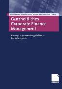 Ganzheitliches Corporate Finance Management PDF