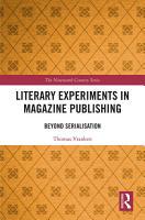 Literary Experiments in Magazine Publishing PDF