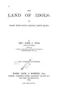 The Land of Idols PDF