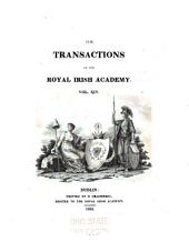 The Transactions of the Royal Irish Academy: Volume 14