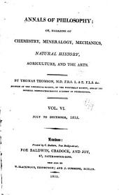 The Annals of Philosophy: Volume 6