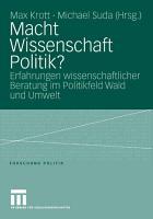 Macht Wissenschaft Politik  PDF
