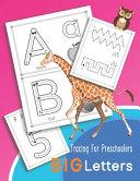 Tracing For Preschoolers BIG Letters
