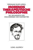 Morenos therapeutische Philosophie PDF