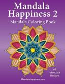 Mandala Happiness 2, Mandala Coloring Book