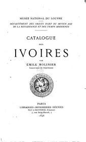 Catalogue des ivoires