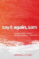 Say It Again  Sam PDF