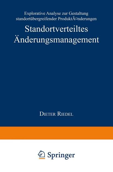 Standortverteiltes   nderungsmanagement PDF