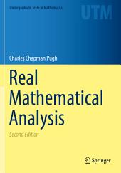Real Mathematical Analysis: Edition 2