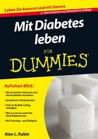 Mit Diabetes leben f  r Dummies PDF