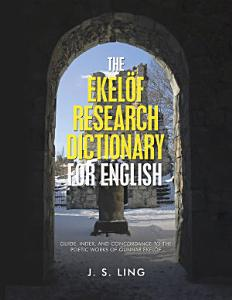The Ekel  f Research Dictionary for English Book