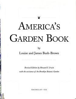 America s Garden Book PDF