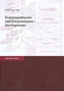 Evolutionstheorie und Kreationismus   ein Gegensatz PDF