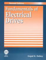 Fundamentals of Electrical Drives PDF