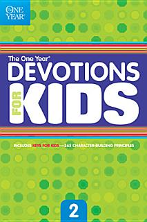 The One Year Devotions for Kids  2 Book