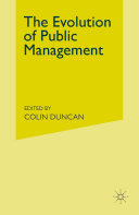 The Evolution of Public Management