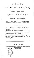 Bell s British Theatre  Consisting of the Most Esteemed English Plays  Volume the First    Twenty first  PDF